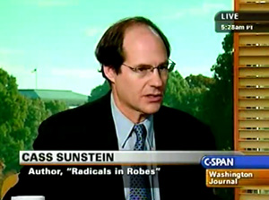 Beck was right.  Sunstein most dangerous Czar in America!