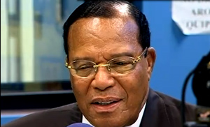 Farrakhan warns, advises Obama on Libya.