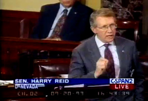 September 93 video exposes Harry Reid's hypocrisy on illegal aliens violating our borders.