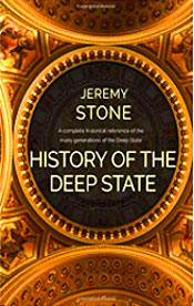 """Mainstream media would have us to believe that The Deep State is only as old as the Obama Administration. However, it has presented itself in many forms throughout our nation's history. Both Democrat and Republican Presidents alike have been involved in this 242-year-old conspiracy against America. Jeremy Stone has elucidated a clear definition of the origin, evolution, objectives, and the hostile foreign intentions of The Deep State. It is an Anti-American agenda, and in fact, it is a Globalist and Communist one."" - Amazon"