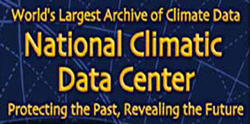Welcome to the National Climatic Data Center website. The Center has long served the Nation as a national resource for climate information. NCDC's data is used to address issues that span the breadth of this Nation's interests. As climate knows no boundaries, we work closely with scientists and researchers world-wide.