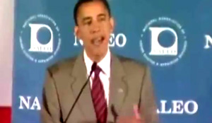 In 2008 candidate Obama said his father served in WWII, when it was his grandfather.