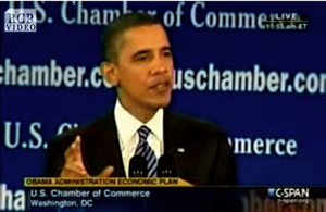 "Obama: Corporate Profits ""Have To Be Shared By American Workers."""