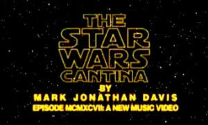 Star Wars Cantina in rare Barry Manilow parody in the style of Copacabana.
