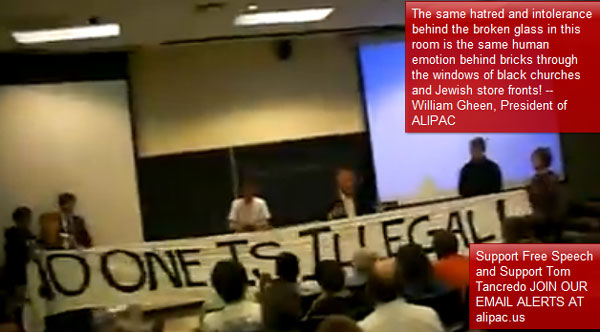 Tom Tancredo Event UNC Shut Down By Violence