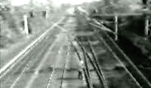 No one will accuse this lucky (and agile) train inspector of having a one-track mind after this surveillance camera video surfaced earlier this month. It's not clear what a train inspector is doing on the tracks demonstrating less awareness than the average ten year old, but he makes up for it by demonstrating catlike reflexes under fire.