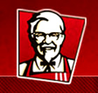 KFC Corporation, based in Louisville, Kentucky, is the world's most popular chicken restaurant chain, specializing in Original Recipe®, Extra Crispy®, Kentucky Grilled Chicken™ and Original Recipe Strips with home-style sides, Honey BBQ Wings, and freshly made chicken sandwiches.